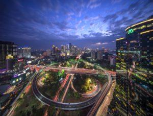 Jakarta Traffic Overhead